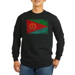 Eritrea Flag Long Sleeve Dark T-Shirt