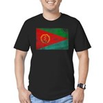 Eritrea Flag Men's Fitted T-Shirt (dark)