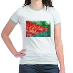 Eritrea Flag Jr. Ringer T-Shirt