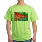 Eritrea Flag Green T-Shirt