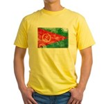 Eritrea Flag Yellow T-Shirt