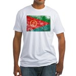 Eritrea Flag Fitted T-Shirt