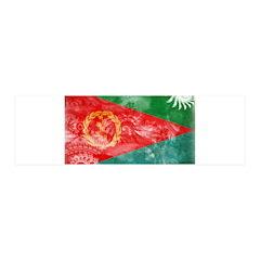 Eritrea Flag 42x14 Wall Peel
