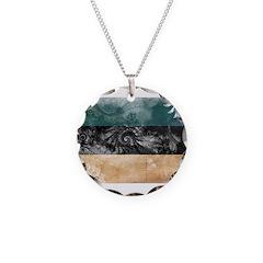 Estonia Flag Necklace
