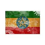 Ethiopia Flag Rectangle Magnet (10 pack)
