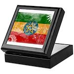 Ethiopia Flag Keepsake Box