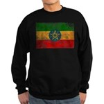 Ethiopia Flag Sweatshirt (dark)