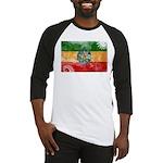 Ethiopia Flag Baseball Jersey
