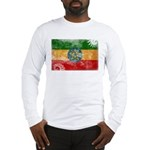 Ethiopia Flag Long Sleeve T-Shirt