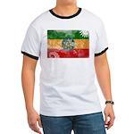 Ethiopia Flag Ringer T