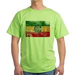 Ethiopia Flag Green T-Shirt