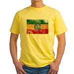 Ethiopia Flag Yellow T-Shirt