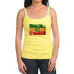 Ethiopia Flag Jr. Spaghetti Tank