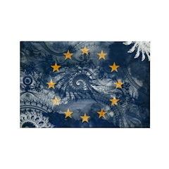 European Union Flag Rectangle Magnet