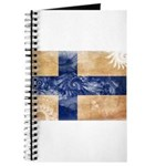 Finland Flag Journal