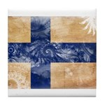 Finland Flag Tile Coaster