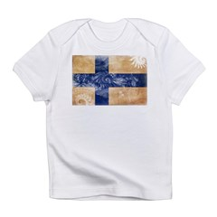 Finland Flag Infant T-Shirt
