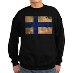 Finland Flag Sweatshirt (dark)
