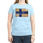 Finland Flag Women's Light T-Shirt