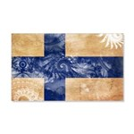 Finland Flag 22x14 Wall Peel