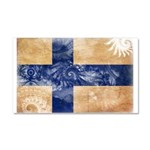 Finland Flag Car Magnet 20 x 12