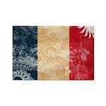 France Flag Rectangle Magnet (100 pack)