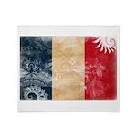 France Flag Throw Blanket