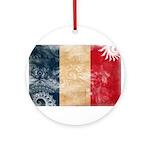 France Flag Ornament (Round)