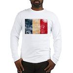 France Flag Long Sleeve T-Shirt
