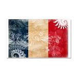 France Flag Car Magnet 20 x 12