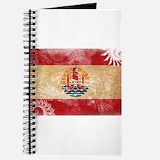 French Polynesia Flag Journal