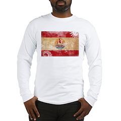 French Polynesia Flag Long Sleeve T-Shirt