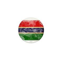 Gambia Flag Mini Button