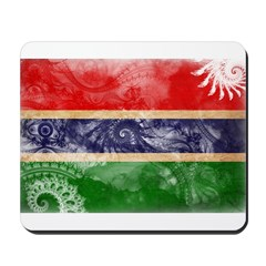 Gambia Flag Mousepad