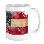 Georgia Flag Large Mug