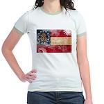 Georgia Flag Jr. Ringer T-Shirt