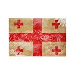 Georgia Flag Rectangle Magnet (10 pack)