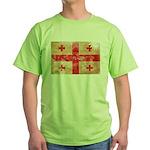 Georgia Flag Green T-Shirt