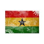 Ghana Flag Rectangle Magnet (10 pack)