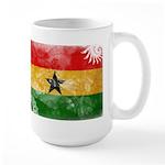 Ghana Flag Large Mug