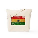 Ghana Flag Tote Bag
