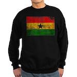 Ghana Flag Sweatshirt (dark)