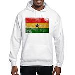 Ghana Flag Hooded Sweatshirt