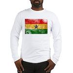 Ghana Flag Long Sleeve T-Shirt