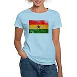 Ghana Flag Women's Light T-Shirt