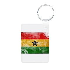 Ghana Flag Keychains