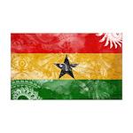 Ghana Flag 38.5 x 24.5 Wall Peel