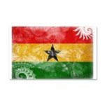 Ghana Flag Car Magnet 20 x 12