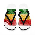 Ghana Flag Flip Flops