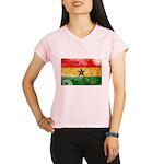 Ghana Flag Performance Dry T-Shirt